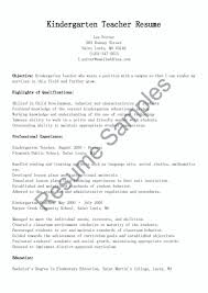 Kindergarten Teacher Resume Job Description Resume Kindergarten Teacher Resume Sample 13