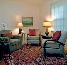 office decorations. Decorating, Interesting Therapist Office With Sofa And Laminate Flooring  Carpet: Tips To Make Office Decorations