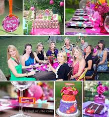 40th birthday party ideas backyard