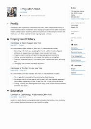 Nice Hairdresser Resume Examples In Resume Templates Hair Stylist