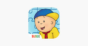 caillou house of puzzles on the app