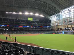 Astros Seating Chart Rows Minute Maid Park Section 134 Houston Astros