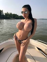Image result for huge tits on a boat