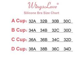 Wingslove Reusable Strapless Self Adhesive Silicone Invisible Push Up Bra Sexy Nubra