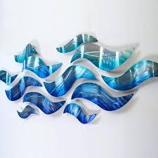 blue metal wall art riptide contemporary metal wall art by studio blue wave metal wall art on teal blue metal wall art with blue metal wall art riptide contemporary metal wall art by studio