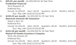 404040 40 Year Term Life Insurance Policy Rates Cost Quote New 20 Year Term Life Insurance Quotes