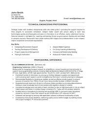 Mechanical Engineering Technician Resume Sample