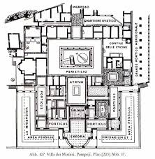 ancient roman villa floor planancient roman domus floor plan