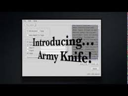 attribute knife