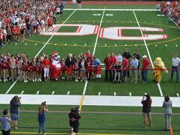artificial football turf. Ocean City High School Unveils Artificial Turf Field; Football Team Plays First Home Game-