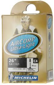 """<b>Камера</b> бутиловая <b>Michelin</b> """"<b>C4 Comp</b> Ultra Light"""", велониппель ..."""