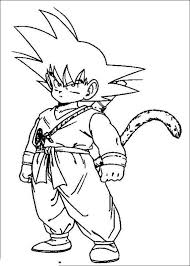 Dragon Ball Z Coloring Pages Free To Print Get Coloring Page