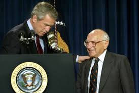 milton friedman ph d academy of achievement 2002 president george w bush honors milton friedman at the white house for lifetime achievements milton friedman has shown us that when government