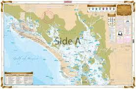 Estero Bay Depth Chart Estero Bay Inshore Fishing Chart 221f