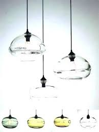 art glass pendant lights artistic lighting hand blown light shades