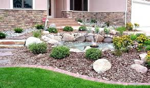 Designer Backyards Awesome Rock Garden Designs For Front Yards Small Garden Design