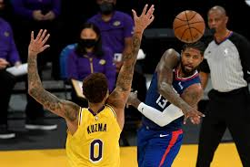 Lakers fall to Clippers in opener, a bitter finish to championship  celebration – Orange County Register