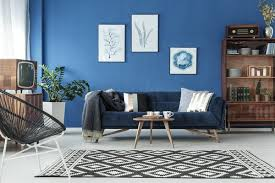 how to choose a wall color with navy blue furniture home guides sf gate