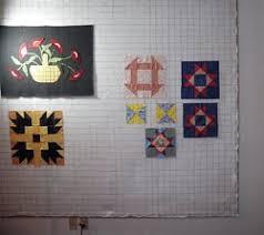 A Quilt Design Wall Reflects Symmetrical Quilt Block Patterns Like ... & Quilt Design Wall Adamdwight.com