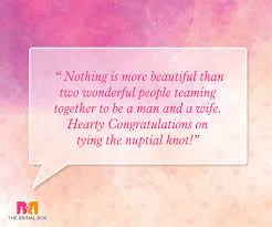 Beautiful Congratulations Quotes Best of Marriage Wishes Quotes 24 Beautiful Messages To Share Your Joy