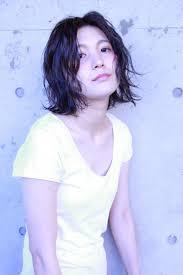 黒髪でも涼しげウエットボブ ヘアカタログ 滋賀京都の美容室
