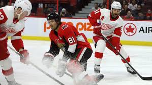 Former Maple Leaf Dmytro Timashov debuts in Red Wings lineup