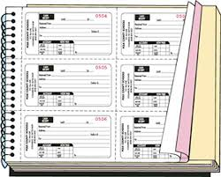 receipt book printing custom printed receipt books receipt books custom receipt books