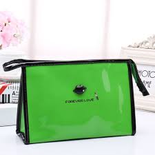 high quality patent leather makeup bag make up bags female zipper cosmetic bag lady cosmetic cases travel organizer bag