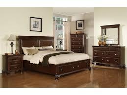 pc bedroom furniture set queen storage platform elements international bedroom canton cherry storage bed elements