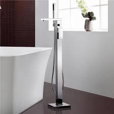floor standing bathtub faucet ideas