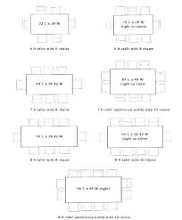 round table sizes size seating chart dining s room sample diagram and floor plan escor
