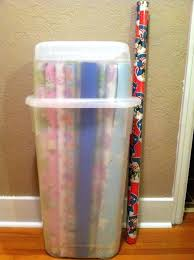 Wrapping Paper Storage Container Gift Wrap Storage Container O49