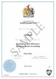 Sample Degree Certificates Of Universities Educare International Limited