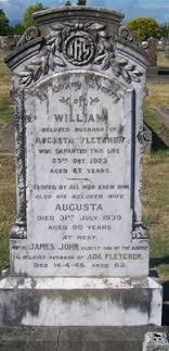 Gisborne District Council - Cemetery Database - Augusta Fletcher