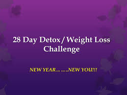day detox weight loss challenge