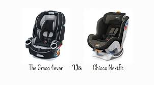 the graco 4ever vs chicco nextfit