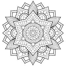 Mandala Coloring Pages Relax While You Create With These Free