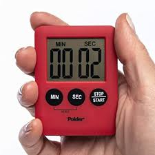 Polder <b>Timer</b> Digital Battery Powered 100-Minute <b>Kitchen Timer</b> ...