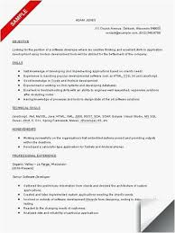 Senior Net Developer Resume Sample Free Templates Software Developer