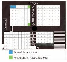 6th Street Playhouse Seating Chart Seating Chart Town Hall Theatre Company