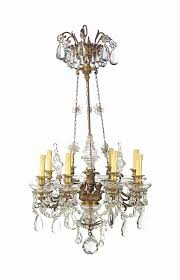 a french ormolu and cut glass nine light chandelier of louis xv style d6001519g jpg