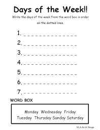 La Escuela de Ingles de Eva: Days of the week