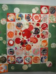 137 best Japanese Quilts images on Pinterest | Japanese quilts ... & Japanese circles and squares quilt.nice use for all my oriental fabric. Adamdwight.com