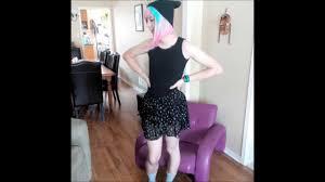 Boy transforming into girl