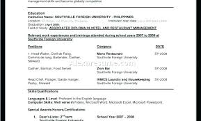 Correct Resume Format Adorable Resume Format For Freshers Mechanical Engineers Pdf Proper The Best