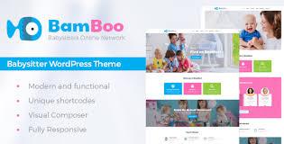 Babysitters Online Free Bamboo Child Care Babysitting Wordpress Theme By Ancorathemes