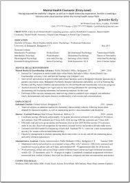 Mental Health Professional Resume Sample Career Counseling Resume Samples Fishingstudio 5