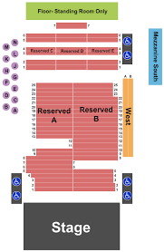 Fillmore Seating Chart Fillmore Auditorium Colorado Seating Charts For All 2019