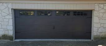 dark brown carriage door yelp brown garage doors at lowes