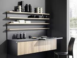 wall mounted wooden storage wall with